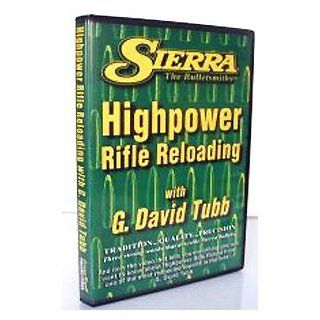 Training DVD G. David Tubb Advanced HiPower Rifle Reloading