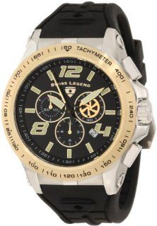 Swiss Legend Men's 10040 01 GB Sprint Racer Chronograph Black Dial Watch at  Men's Watch store.