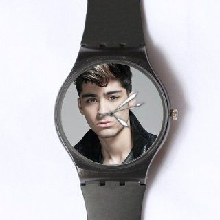 Custom Zayn Malik Watches Classic Photo Black Watch WXW 1656: Watches