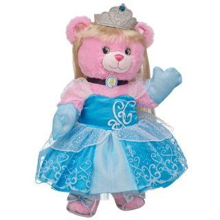 Build a Bear Workshop, Disney Princess Teddy Bear in Cinderella Costume: Toys & Games