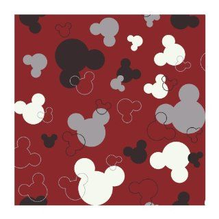 York Wallcoverings DK5928SMP Disney Kids Mickey Mouse Heads Wallpaper Memo Sample, 8 Inch x 10 Inch