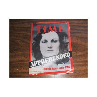Time Magazine September 29 1975, Apprehended Patty Hearst Time Books