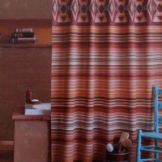 Saturday Knight LTD Southwest Cotton Shower Curtain 72 X Inch On PopScreen