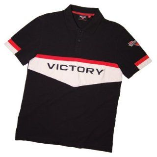 Genuine Victory Motorcycles Mens Brand Polo Shirt Small pt# 286323502 Automotive