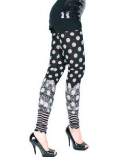 LeggingsQueen Love Print Leggings   Black at  Women�s Clothing store