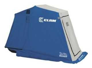 Clam Dave Genz Legacy Series Scout Ice Shelter  Fishing Ice Fishing Shelters  Sports & Outdoors