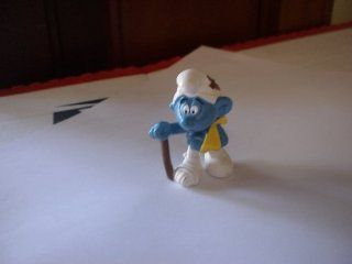 The Smurfs Injured Smurf (Stepped On?) Pvc Figure: Everything Else