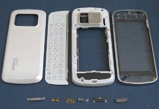Nokia N97 WHITE Full Housing Case Cover + keypad+T6 Screw Driver x1+Opening Pry Tools x1  Other Products