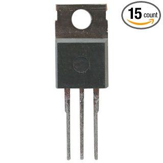 Transistor General Purpose BJT NPN 60 Volt 6 Amp 3 Pin3+ Tab TO 220 Bulk: Industrial & Scientific