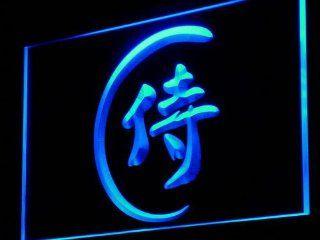 ADV PRO i921 b Japanese Samurai Katana Bar Beer Neon Light Sign