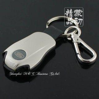 Land Rover LED FlashLight car auto key Ring Chain holder key case keyfob Automotive