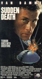 Sudden Death [VHS] Jean Claude Van Damme, Powers Boothe, Raymond J. Barry, Whittni Wright, Ross Malinger, Dorian Harewood, Kate McNeil, Michael Gaston, Audra Lindley, Brian Delate, Steve Aronson, Michael R. Aubele, Peter Hyams, Anders P. Jensen, Ash R. Sh