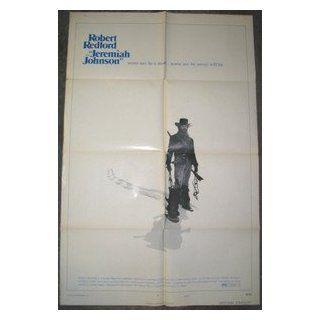 JEREMIAH JOHNSON / ORIGINAL U.S. ONE SHEET MOVIE POSTER (ROBERT REDFORD) ROBERT REDFORD Entertainment Collectibles