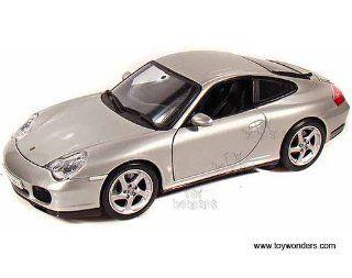 31628sv Maisto   Porsche 911 Carrera 4s Hard Top (118, Silver) 31628 Diecast Car Model Auto Vehicle Die Cast Metal Iron Toy Transport Toys & Games
