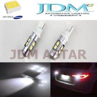 JDM Astar Super Bright AX 2835 Chipsets 912 921 T10/T15 Backup Reverse Light Bulbs,Parking lights, Xenon White Automotive