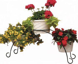 Garden Odyssey PS94 8 3 Flower Pot Bridge, Black  Planters  Patio, Lawn & Garden