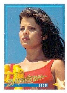 Baywatch trading card #12 Yasmine Bleeth Caroline Holden: Entertainment Collectibles