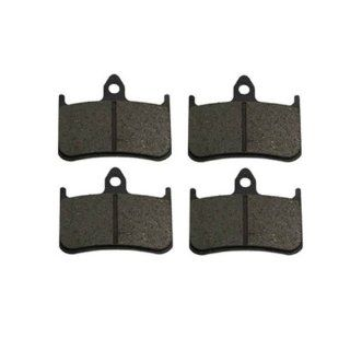 2002 2007 Honda CB 919 (CB 900 F) Kevlar Carbon Front Brake Pads: Automotive
