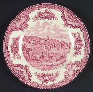 Johnson Brothers Old Britain Castles Pink (England 1883) Bread & Butter Plate, Fine China Dinnerware: Kitchen & Dining