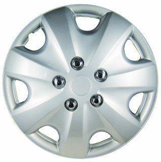 """White Knight WK 957C, Honda Accord, 15"""" Silver/Lacquer Plastic Wheel Cover, Set of 4: Automotive"""