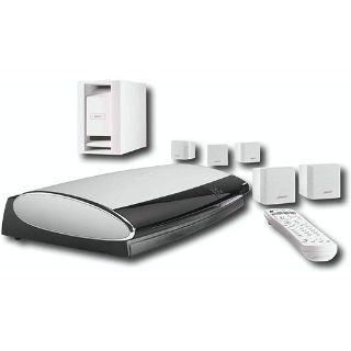 Bose Lifestyle 18 Series III DVD Home Entertainment System   White Electronics