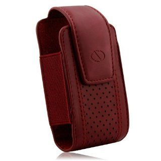 Naztech Executive Case   Small/Medium Flip Phones   Blackberry, HTC, Samsung, LG, Motorola, and Nokia   Burgundy: Cell Phones & Accessories