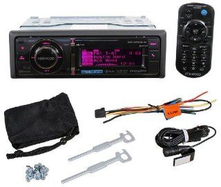 Kenwood KDC BT952HD Single Din In Dash CD//HD/USB HD Radio Receiver With Bluetooth And Pandora App Control