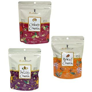 Mareblu Naturals Variety Pack, Almond, Cashew and Trail Mix, 4 Ounce Pouches (Pack of 15) : Grocery & Gourmet Food