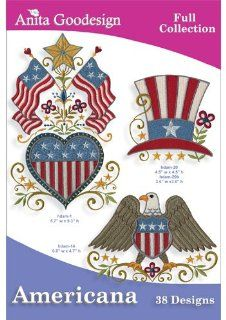 Anita Goodesign Americana Embroidery Design