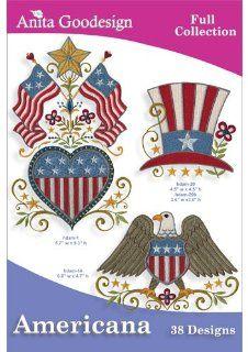 Anita Goodesign Americana Embroidery Design