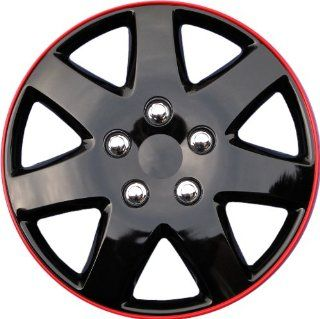 "Drive Accessories KT 962 15IB+R, Toyota Paseo, 15"" Ice Black Replica Wheel Cover, (Set of 4): Automotive"