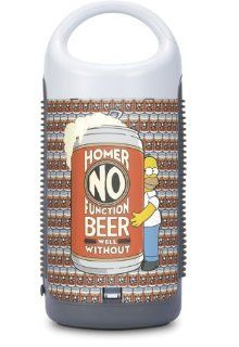 Skinit Homer No Function Beer Well Without Vinyl Skin for AR Portable Wireless Speaker Electronics