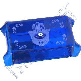 Glass Tarot Box Fatima Hand Cobalt Blue  Other Products