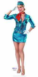 Air Hostess (Rubies Secret Wishes)   Sexy Babe Lifesize Cardboard Cutout / Standee / Standup: Toys & Games