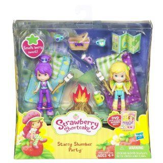 Strawberry Shortcake Mini Figure Two Pack Starry Slumber Party Toys & Games