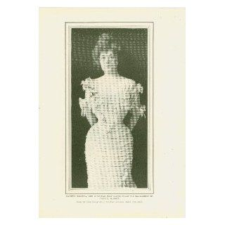 1904 Print Actress Nanette Comstock : Everything Else