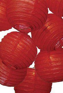 Red Paper Lantern String Lights   Paper Lantern Lamps