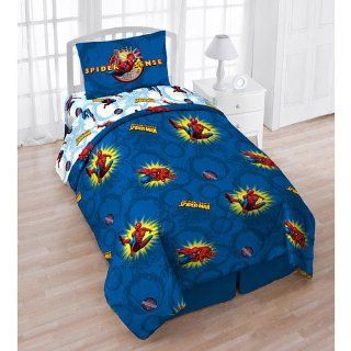 Marvel Comics Spiderman Pow Twin Comforter Sheets Bedding Set   Childrens Bedding Collections