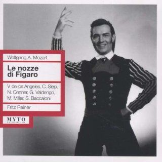 Wolfgang Amadeus Mozart: Le Nozze Di Figaro (The Marriage of Figaro) [New York    March 1, 1952; Cesare Siepi, Giuseppe Valdengo, Victoria De Los Angeles, Nadine Connor, Mildred Miller, Jean Madeira, Salvatore Baccaloni, Roberta Peters, Salvatore Baccaloni
