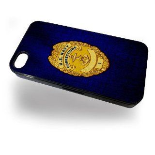 Case for iPhone 4/4S with U.S. Navy Corrections officer badge Cell Phones & Accessories