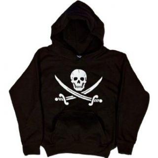 Youth Hoody  SKULL AND CROSSED SWORDS Novelty Hoodies Clothing
