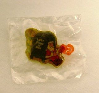 "1997 Hallmark Christmas Letters to Santa Lapel Pin 1"" X 1"": Everything Else"