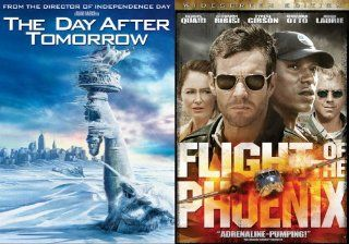 The Day After Tomorrow/Flight of the Phoenix: Dennis Quaid, Jake Gyllenhaal, Emmy Rossum, Miranda Otto, Giovanni Ribisi, Dash Mihok, Jay O. Sanders, Sela Ward, Austin Nichols, Arjay Smith, Tamlyn Tomita, Sasha Roiz, John Moore, Roland Emmerich, Alex Blum,