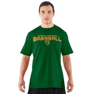 Under Armour Men's UA Dugout T Shirt Medium Classic Green  Athletic Shirts  Sports & Outdoors