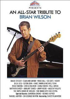 An All Star Tribute to Brian Wilson [VHS]: Elton John, Chazz Palminteri, Carly Simon, Ricky Martin, Charlotte Caffey, Paul Simon, Rachel Hunter, Dennis Hopper, Jane Wiedlin, Michael Penn, David Crosby, Aimee Mann, Belinda Carlisle, Jimmy Webb, Cameron Crow