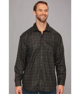 Tommy Bahama Big & Tall Big Tall Cambridge Cruiser Shirt Jacket Mens Long Sleeve Button Up (Gray)