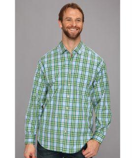 Tommy Bahama Big & Tall Big Tall Cubanita L/S Shirt Mens Long Sleeve Button Up (Blue)