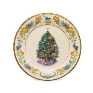 Lenox 2006 Trees Around the World Collector Plate Kitchen & Dining