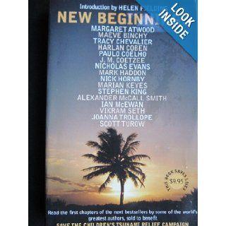 New Beginnings Save The Children's Tsunami Relief Campaign, Helen Fielding Books