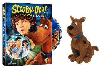 Scooby Doo: The Mystery Begins (with Ty Scooby Doo Plush): Frank Welker, Nick Palatas, Robbie Amell, Hayley Kiyoko, Kate Melton, Gary Chalk, Shawn McDonald, C. Ernst Harth, scoobydoo toy action figure 1969 original serie 13 thirteen ghosts of soundtrack Ne